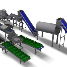 foodlife Bean Processing Line